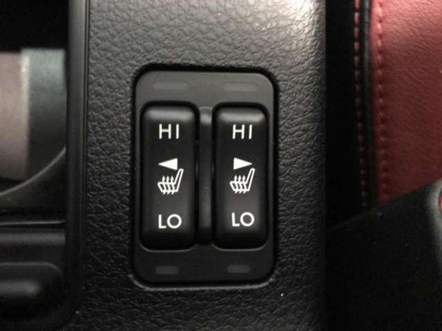 ☆シートヒーター☆寒い季節も快適に運転できます!