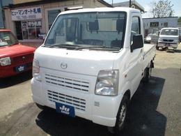 マツダ スクラムトラック 660 KC パワステ 3方開 4WD