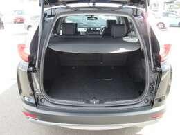 リアシートの後ろにはラゲッジスペースが確保されており、フル人数乗車時でも荷物を積むスペースがあります。