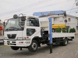 UDトラックス コンドル ハイジャッキ 4段クレーン 積載5400K