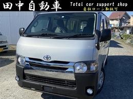 トヨタ ハイエースバン 2.0 DX ロング ETC