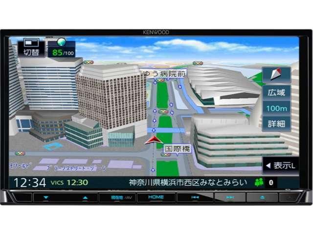Aプラン画像:ケンウッドS708ナビはDVD再生CD録音USB&SDカード対応でハンズフリー電話もOKです走行中TV映りますステリモUSB接続