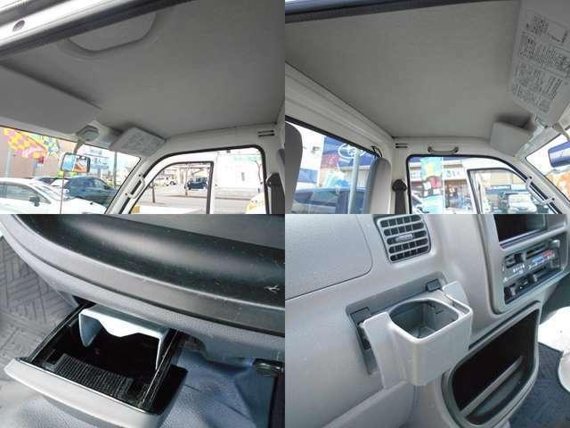 気になるルーフは比較的良好な状態です!!運転席&助手席共に便利な『ドリンクホルダー』付き!!今では珍しい『灰皿』も付いてます!!!