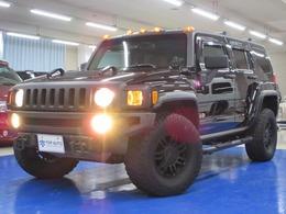 ハマー H3 タイプG 4WD ディーラー車 サンルーフ ベージュ革 ナビ
