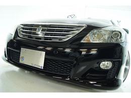 トヨタ クラウンハイブリッド 3.5 スペシャルエディション 本革 新品ホイール新品タイヤ 新品車高調