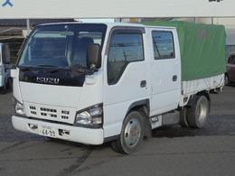 いすゞ エルフ 4.8ディーゼル 2.0tWキャブ幌