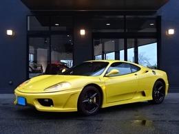 フェラーリ 360モデナ F1 黒革SチャレンジGMSマフラー18AW