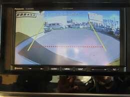 バックカメラも搭載!車庫入れや縦列駐車をサポートしてくれます!