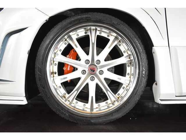 WORK シュバート SC4 20インチAW ホワイトポリッシュ☆ タイヤサイズは、245-40-20☆ BS・レグノ装着済み☆ 心配な車検や整備、大口径の組替・脱着等のアフターも当店にお任せ下さい☆