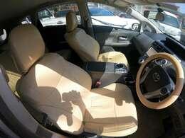 運転の安全性、正確性はシートの質にも関係がります!運転席、助手席ともに座り心地が良く、安心して運転ができます♪