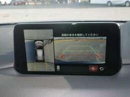 人気の360°ビューモニター付き♪狭い駐車場でも安心です♪