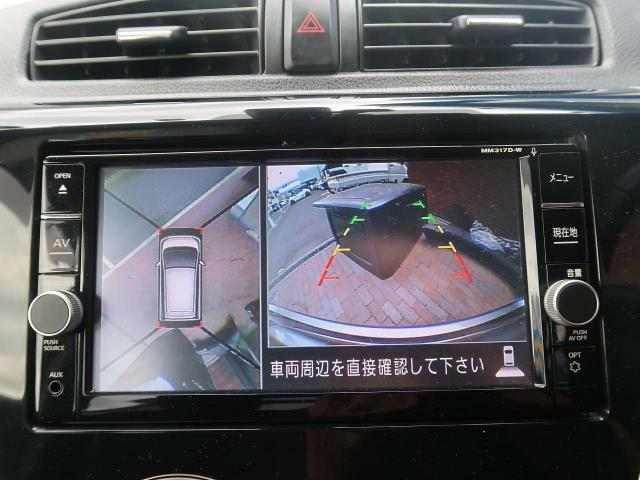 【アラウンドビューモニター】アラウンドビューが装備されております。お車を初めて運転されるかたやバック操作が苦手のお客様にはオススメの装備ですね☆