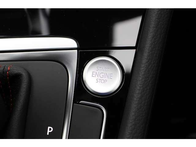 エンジンの始動停止もワンタッチで操作可能です。煩わしい鍵の操作も不要です。