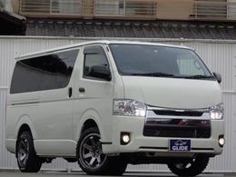 トヨタ ハイエースバン 3.0 DX ロング GLパッケージ ディーゼルターボ 4WD 5速MT ナビ地デジ LED リフトアップ