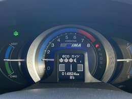走行距離14824kmです、ディーラー記録簿付きワンオーナー車ですのでとても安心です。