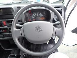 運転席にはSRSエアバックが装着されています。