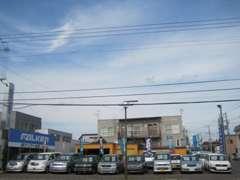 軽自動車、ミニバン、ワンボックス、輸入車、幅広く取り揃えてます!4番通りに黄色い建物tが目印です!創業25年の実績!!