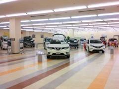 道内最大級の新型車展示スペースです。新車も中古車も合わせてご検討頂けます。また、試乗車も豊富にご用意しています。