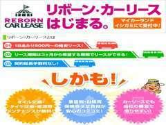 詳細は当社HP→(http://www.ishigami.co.jp/reborn_carlease/)