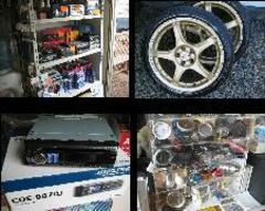 タイヤ・アルミ・ステレオなど各種中古パーツも多数ございます。