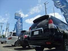 展示場にないお車もご予算に応じてお探し致します。気軽にご相談ください。