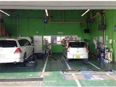 九州運輸局指定工場も完備!アフターフォローもスピーディで安心。