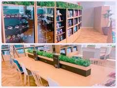 豊岡店の店長がお客様のためにこだわった空間。お客様のご来店をスタッフ一同、心よりお待ちしております。
