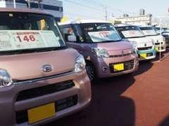 常時50台を有するU-CAR店も併設しております。新車とU-CARで皆様のご希望に合わせてご提案させていただきます。
