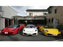 最新のフェラーリから、ヴィンテージカーまでお任せください