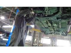 運輸局指定サービス工場完備でお車の購入後も安心です♪