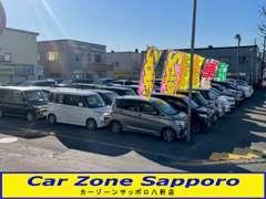 お車で御来店されるお客様は、こちらの駐車場へ!ゆっくりと御納得がいくまで御覧下さい!