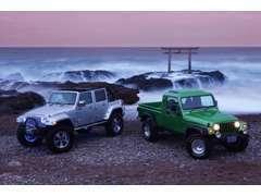 各種ドレスアップ承ります Jeepオリジナルパーツも充実  JKラングラー用リヤシートリクライニングキットは大好評!