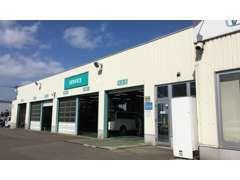 当店はサービス工場(指定工場)を併設していますので、購入後のアフターサービスも安心です。