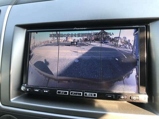 フロント、サイド、バックカメラで周囲を確認することができます☆