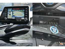 ■スマホ連携が可能な8インチのディスプレイオーディオが標準装備!さらにメーカーオプションのパノラミックビューモニターを装備している為駐車も楽々です!
