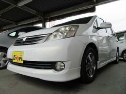 トヨタ アイシス 2.0 G 車検整備付 走行7.3万KM CD MD ETC