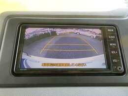 車庫入れの強い味方、バックカメラ付きです!大きな車でも安心ですね。