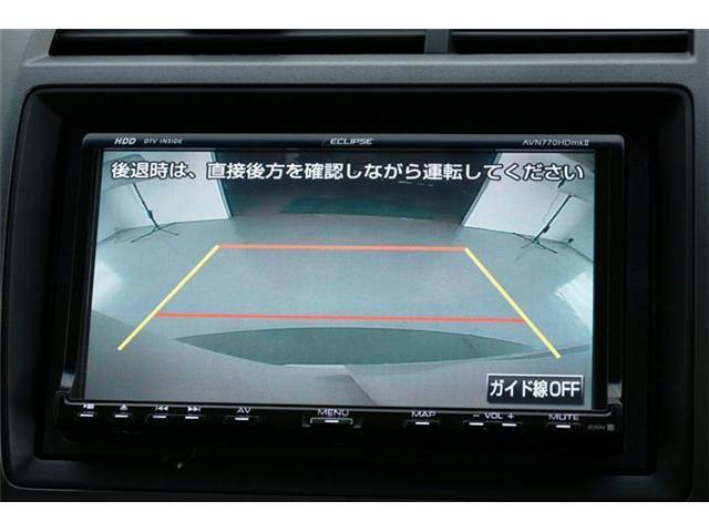 車の後方の映像を映すバックカメラで、安全確認やバック駐車をするのに役立ちます!