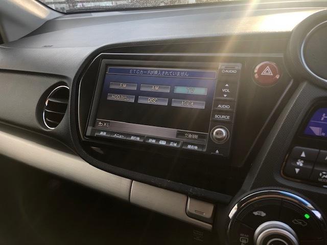 純正HDDナビゲーション付きです!ワンセグTVや音楽録音も可能です!