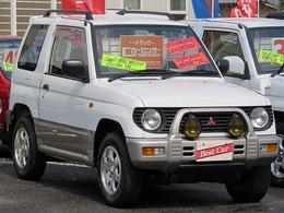 三菱 パジェロミニ 660 XR-II 4WD 走行7.2万Km 四駆軽ジープRV
