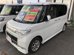 ダイハツ タント 660 カスタム X 4WD SDナビ TV スマートキー