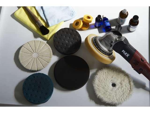 Bプラン画像:様々な道具を使用します。職人のこだわりです。