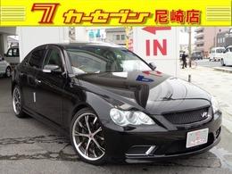 トヨタ マークX 3.0 300G Sパッケージ ヴェルティガ ワーク19インチアルミ ナビ・フルセグTV