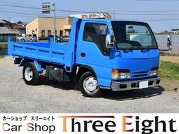 いすゞ エルフ 4.3 強化ダンプ 高床 ディーゼル AT車/メッキバンパー/メッキミラーカバー