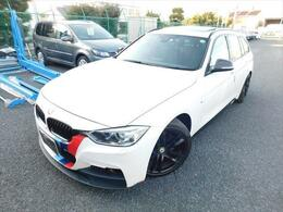 BMW 3シリーズツーリング 320d Mスポーツ 1オーナーサンルーフ衝突軽減フルセグTV