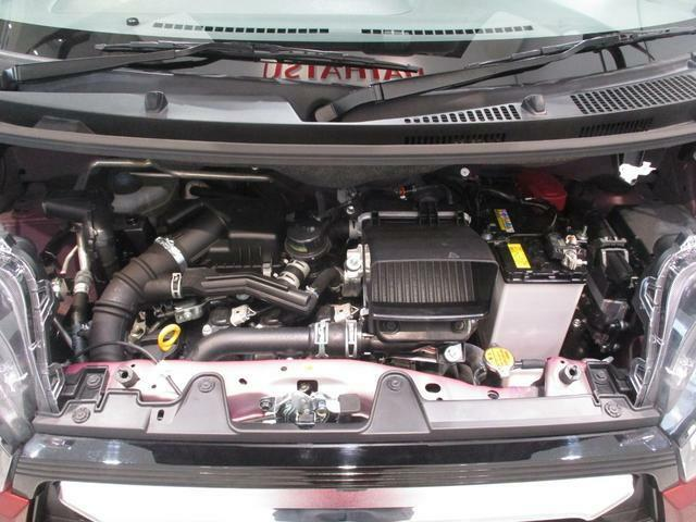 CVTターボの軽快な加速が魅力です☆停車時に無駄な排出ガスを減らして低燃費に貢献してくれるエコアイドル搭載車です☆