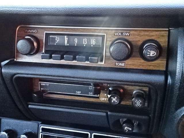 ラジオも使用可能です!ご確認ください!