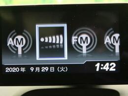 ディスプレイオーディオには、FMとAM再生機能もついてます!!