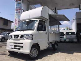 日産 クリッパートラック 660KCエアコン・パワステ3方開 キッチンカーBOX新品 シンク・調理台付