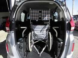 座席数5+車いす1脚で、6名が乗車できます。介護施設や病院の送迎にも活躍します。
